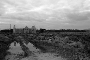 Unfinished house in Co. Roscommon, Ireland, Emma Cummins, 2011