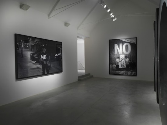 Dedicated to the Workers and Unemployed, installation view, Lisson Gallery, London